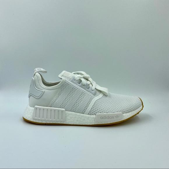 Adidas Shoes New Mens Originals Nmd R1 White Gum Unisex Poshmark